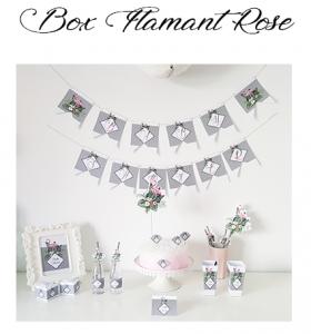 box-anniversaireflamant rose