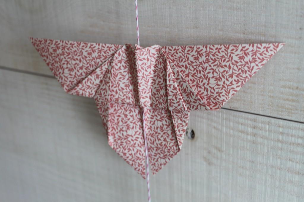 atelier guirlande papillon origami