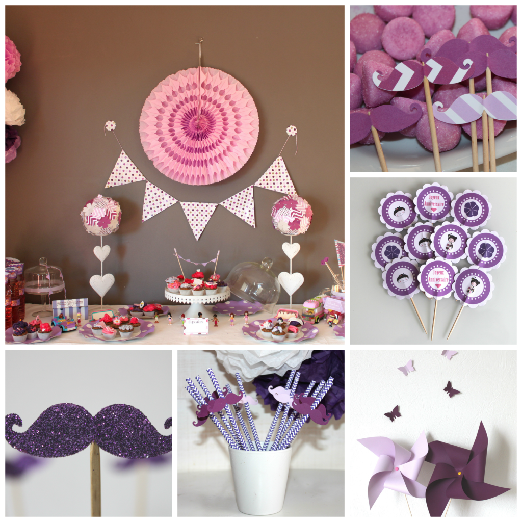 mantage sweet table mauve