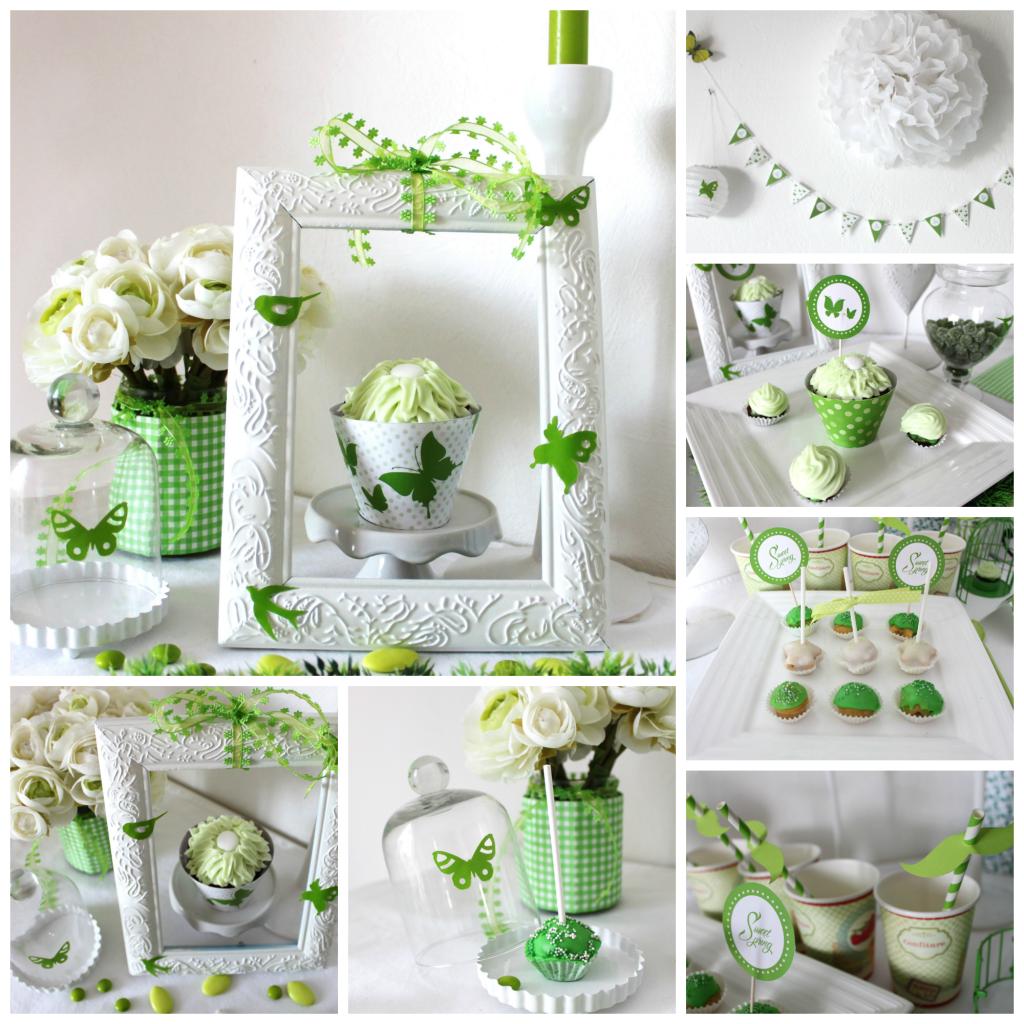 montagesweet table vert