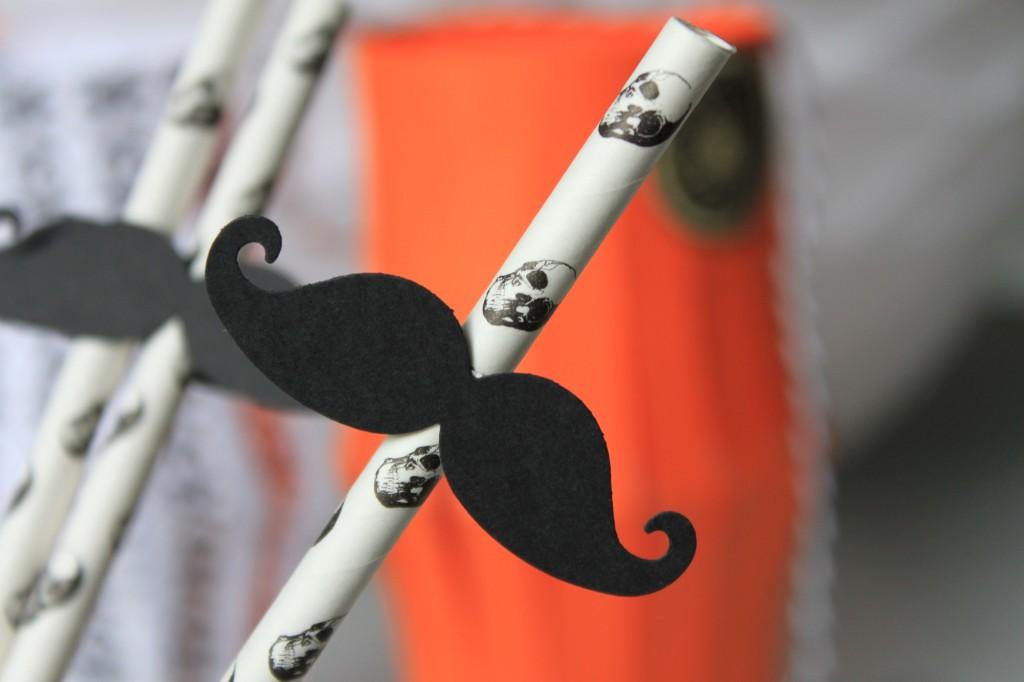 Halloween paille tete de mort moustache (4)