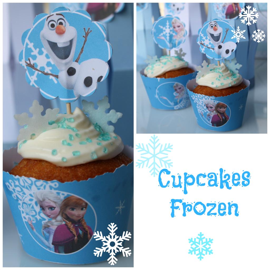 cupcakes -frozen