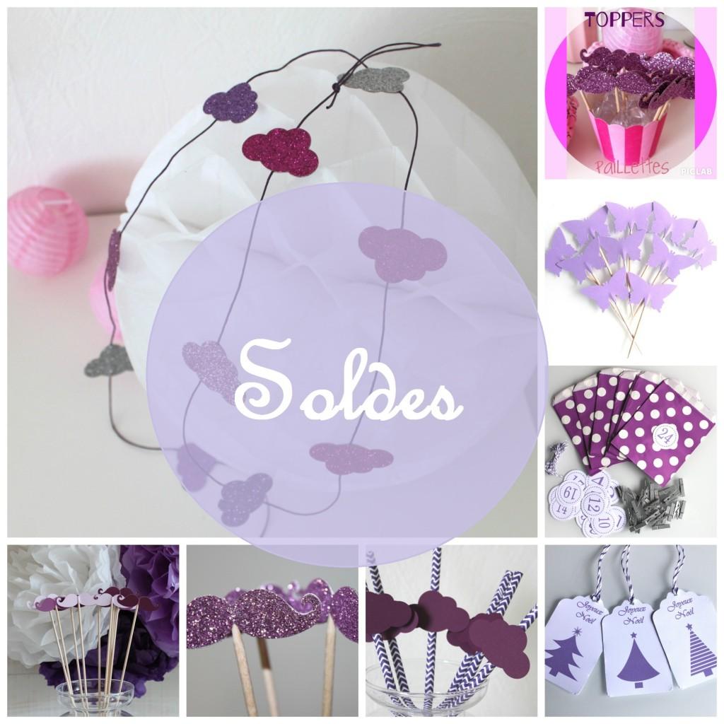 violet et mauve soldes