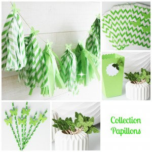 papillons-verts-collection