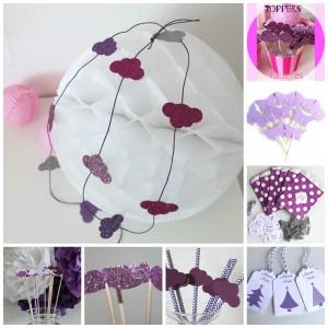 violet et mauve