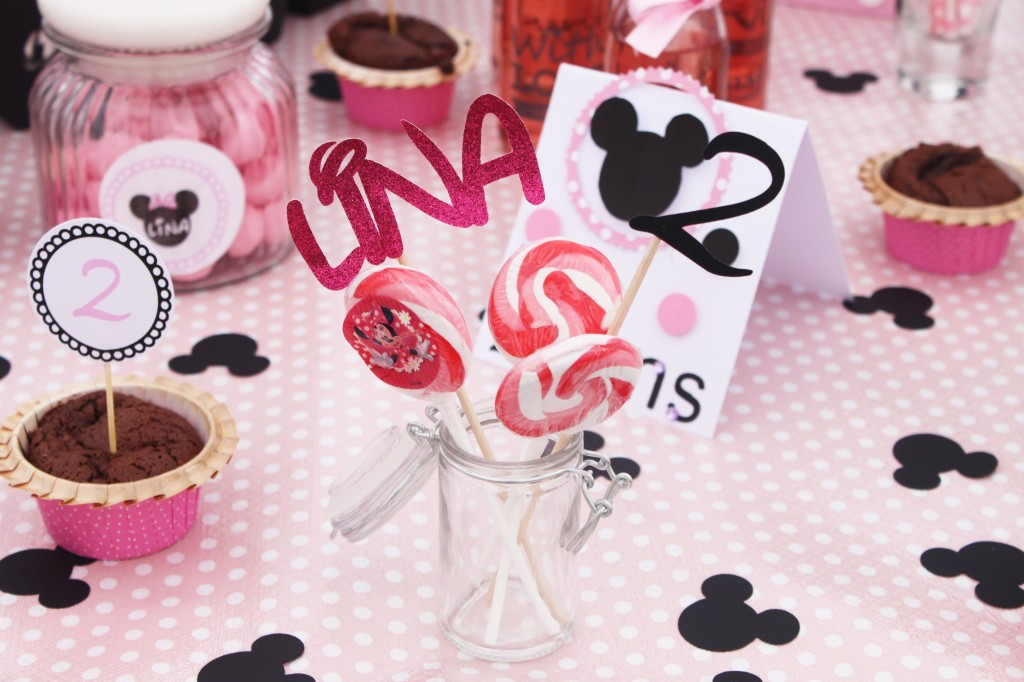 sweet table-minnie-pic-prenom