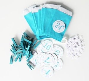 noel-calendrier-avent-pochettes-turquoise