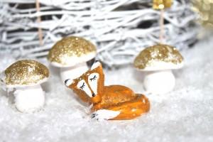 DIY- champignons fimo noel dore (36)