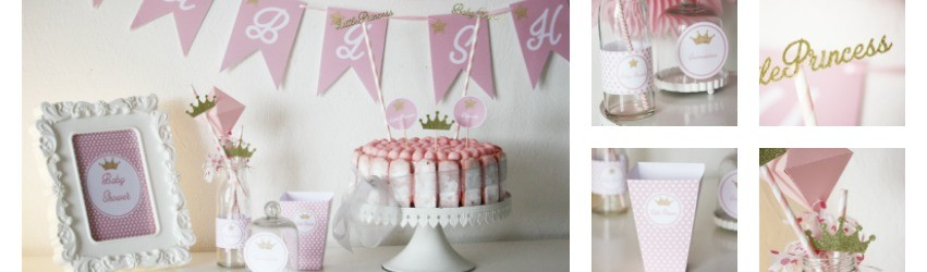 Réaliser un candy bar pour une baby shower- Little Princess