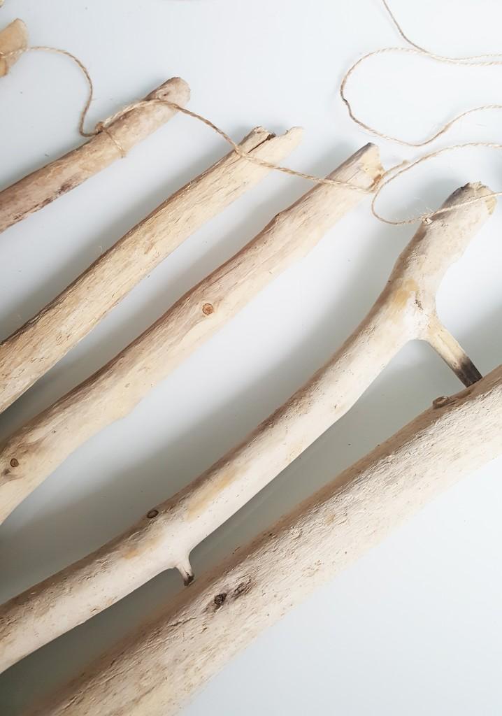 diy sapin bois flotte