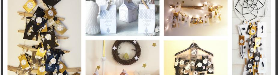 Noël : 24 idées cadeaux pour remplir votre calendrier de l'avent – « Bons pour »- printable