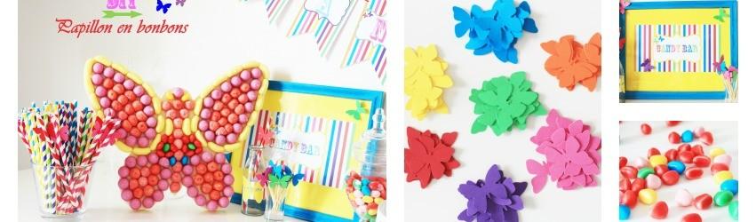 DIY : réaliser un papillon en bonbons pour vos tables de fêtes